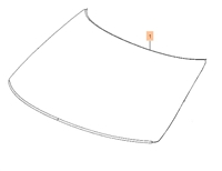 Saab OEM NEW 9-5 Windshield (2010-2011)