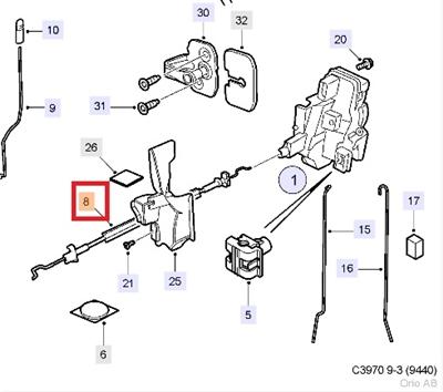 2005 Saab 9 3 Aero Engine