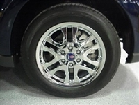 **FREE GROUND SHIPPING** Saab OEM 9-7x Set of 4 Wheels (6-Spoke Split Polished Finish)