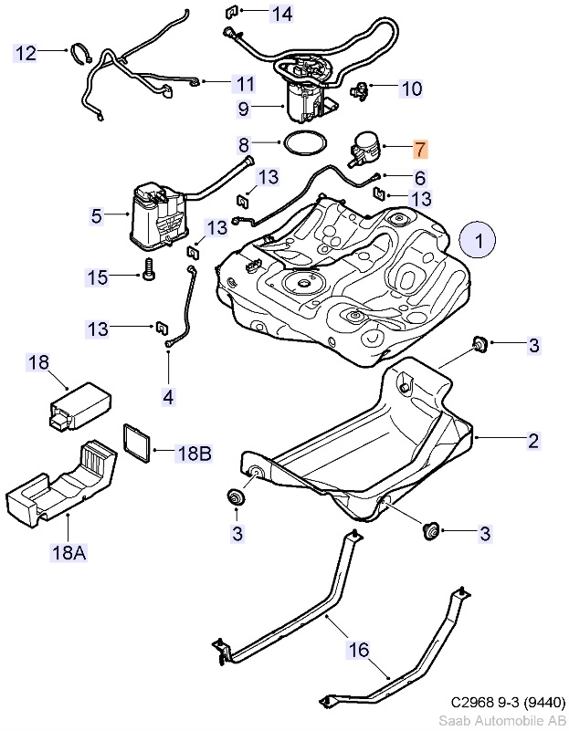 2002 Saab 9 5 2 3 Engine Diagram - Wiring Diagrams  Saab Wiring Diagrams Emissions Canister on
