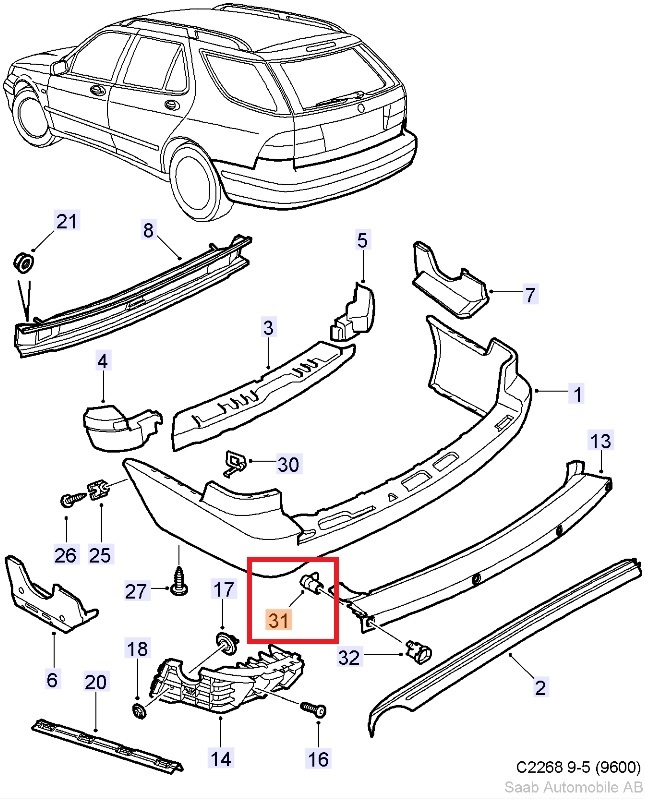2005 Saab 9 3 Suspension Diagram Com