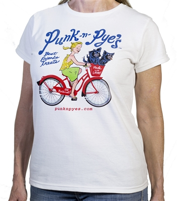 Ladies Punk -n- Pye's T-shirt