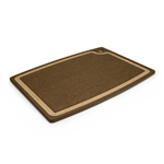 "epicurean 17.5"" x 13"" nutmeg with natural core groove board"