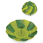joseph joseph green lotus steamer plus