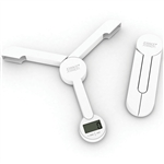 joseph joseph white triscale folding digital scale