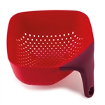 joseph joseph red medium square colander