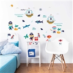 walltastic pirate wall stickers