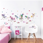 walltastic magical unicorn wall stickers