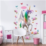 walltastic magical unicorn large character