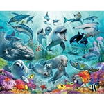 walltastic under the sea wallpaper mural