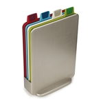 joseph joseph index silver mini chopping board set