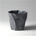 essey graphite mini bin bin waste bin