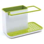 joseph joseph white & green caddy sink tidy