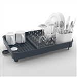 joseph joseph grey extend expandable dish rack