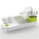 joseph joseph white extend expandable dish rack