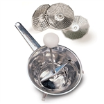 acea 20cm stainless steel mouli grater