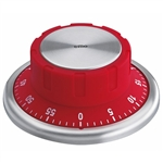 cilio red 9.5cm safe style timer
