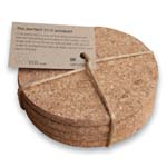 ashortwalk cork coaster
