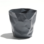 essey graphite grey bin bin waste bin