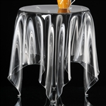 essey clear round grand illusion table