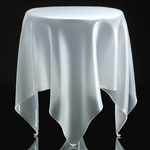 essey ice matt round grand illusion table