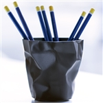 essey black pen pen desktop pen pot