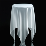 essey ice tall illusion table