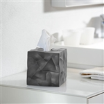 essey graphite grey wipy tissue box cover