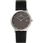 danish design elbe dark grey medium gents watch