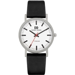 danish design rhine white black medium gents watch