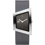danish design squeezy silver grey ladies watch