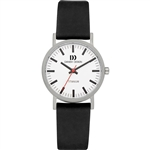 danish design rhine white black small ladies watch