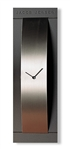 jacob jensen stainless steel and grey wall clock