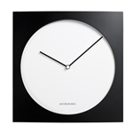 jacob jensen black and white 320 wall clock