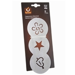 forever 3 in 1 coffee decorator stencil