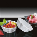 kuchenprofi 11cm white pudding bowl