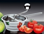 kuchenprofi 14cm mini mouli vegetable/food mill
