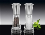 kuchenprofi 13cm new york salt & pepper mill set