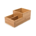 rosseto small bamboo condiment tray bakery building block