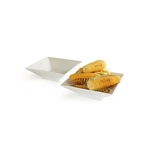 rosseto 2 piece square porcelain trumpet bowl set