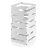 rosseto matt white square skycap multi level riser