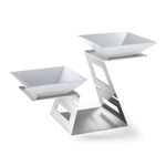 rosseto stainless steel swan multi-level system
