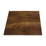 rosseto square walnut wood surface