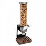 rosseto ez-serv free standing tube with walnut drip tray