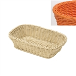 saleen orange rectangular basket