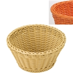 saleen orange round basket