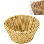 saleen light beige round basket