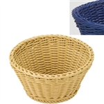 saleen navy blue round basket