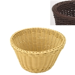 saleen brown round basket