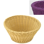 saleen purple round basket